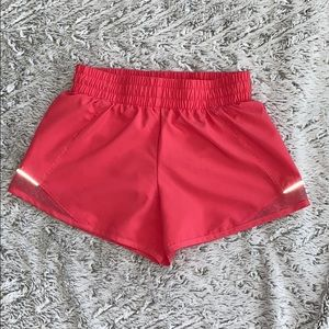 Girl's pink running shorts L(10/12)
